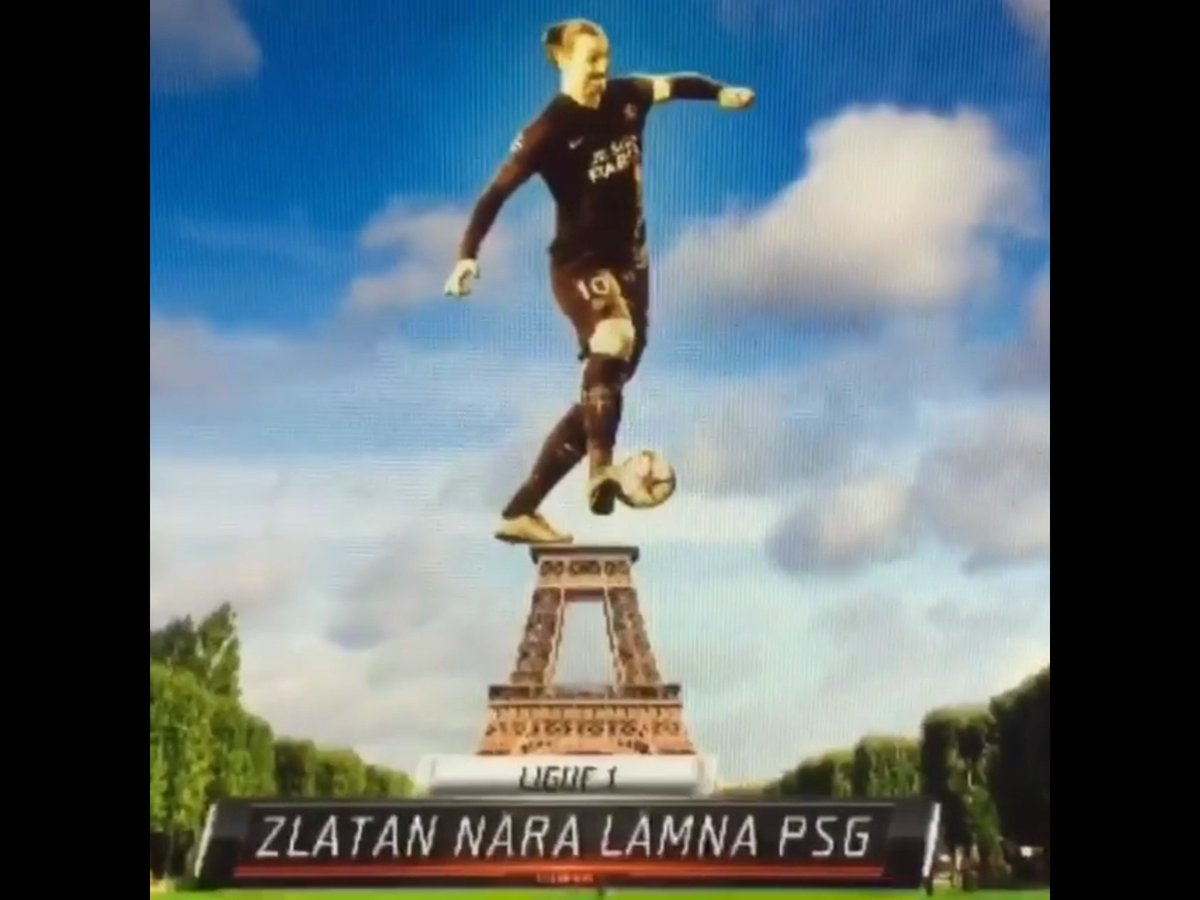 Quand la Tour Eiffel répond à Zlatan Ibrahimovic