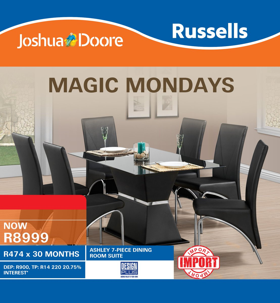 Joshua Doore On Twitter Dine In Style With This Stunning Ashley 7 Rh Com Murder Furniture South Africa