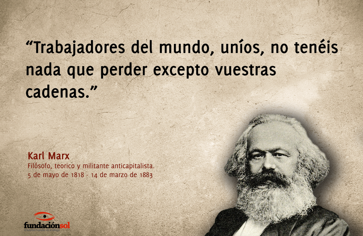 Fundación Sol در توییتر Un Día Como Hoy Fallece Karl Marx