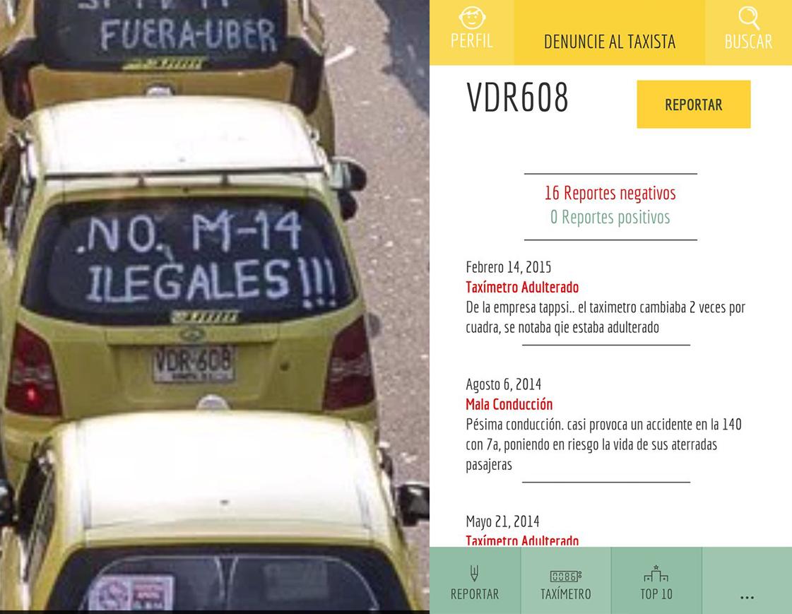 El paro de taxistas resumido en una imagen.  Nueva app para iphone: https://t.co/VrchAxOmbK https://t.co/w3AnfyKXRS