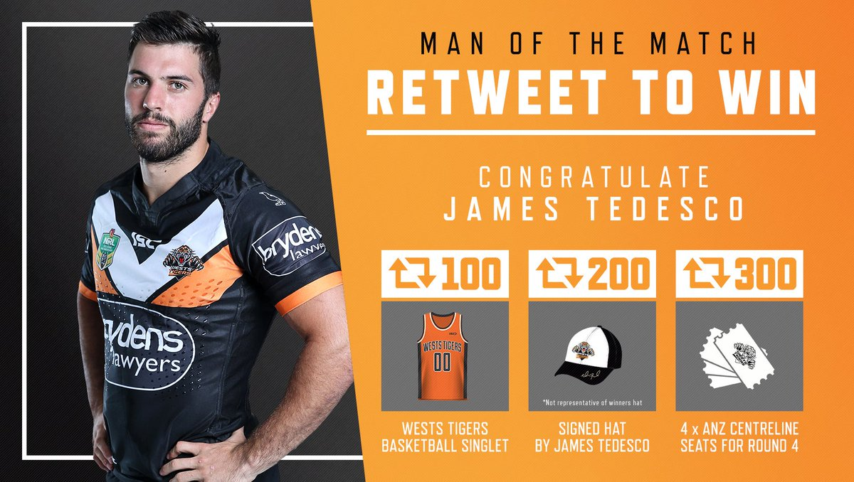 #RETWEET to congratulate @jamestedesco93 as our Man of the Match and you could win some great prizes! #WinAsOne https://t.co/MrLJmZ76ay