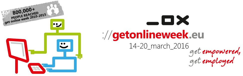 Get Online Week has started! 4000+ events to get people digitally skilled #GOW16 https://t.co/1dzo0qVfer #eskills https://t.co/3tUkE2Xqmy