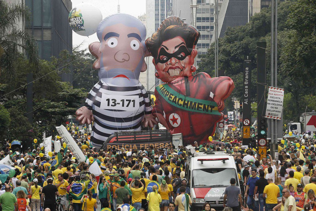 Dilma Rousseff, en modo supervivencia tras un fin de semanadramático https://t.co/KEAXSuYWn6 https://t.co/8J4VYNfAp5