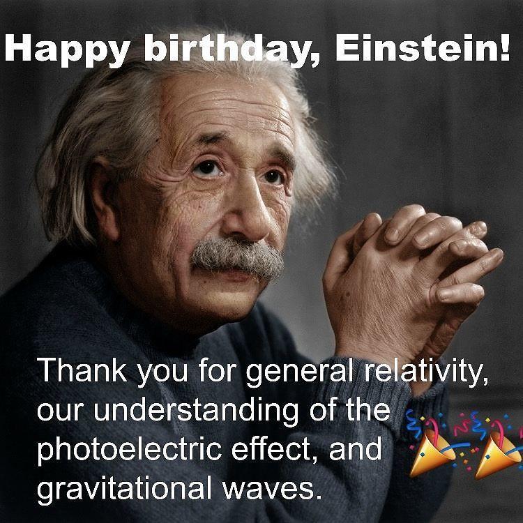 """ScienceAlert On Twitter: """"Happy Birthday, Albert Einstein"""