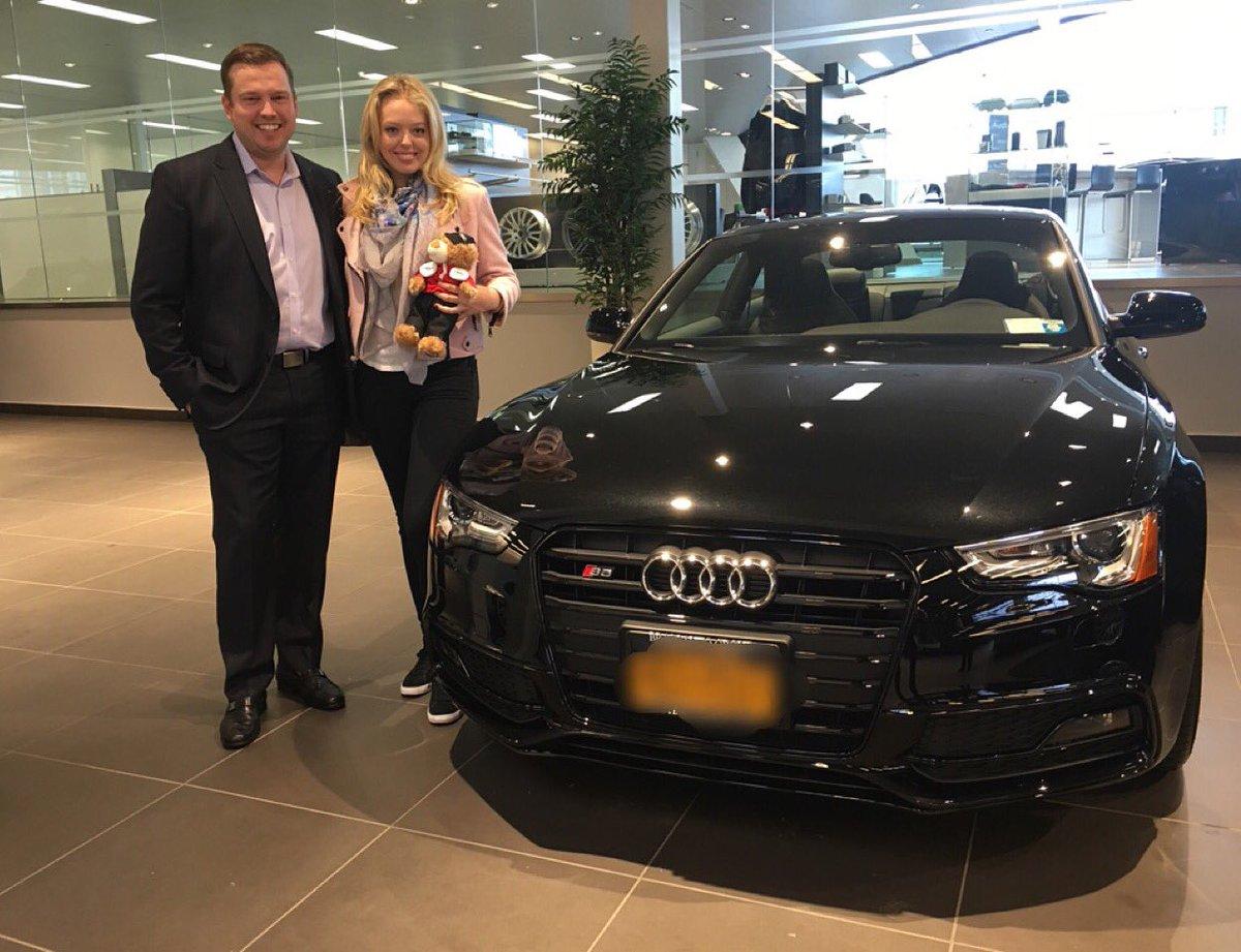 Audi Brooklyn On Twitter Tiffany Trump Just Took Delivery Of Her - Audi brooklyn