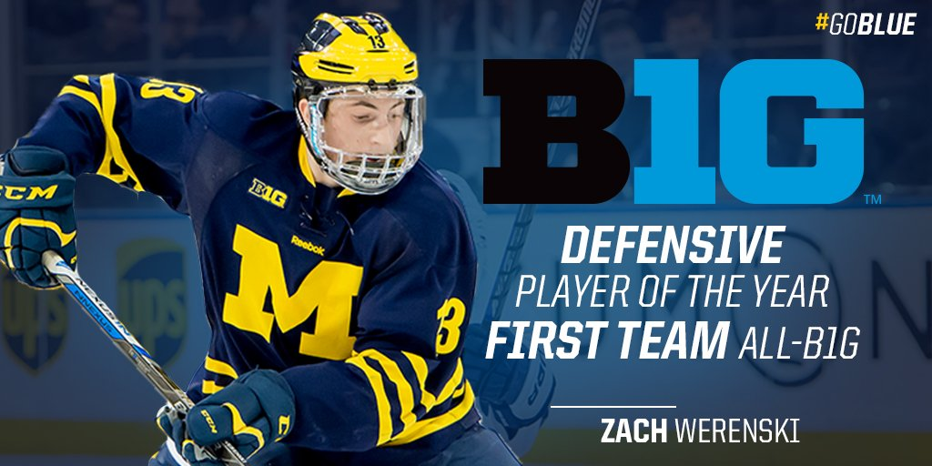 big sale 3cb62 ede62 Michigan Hockey on Twitter: