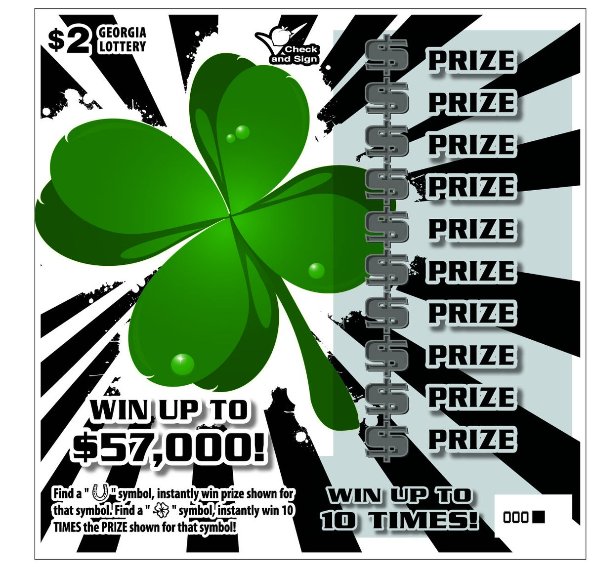 Georgia Lottery On Twitter If Four Leaf Clovers Bring You Luck
