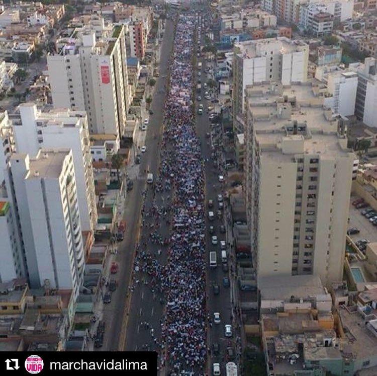 Incredible #marchforlife in Peru over the weekend! #prolifegen #whywemarch https://t.co/4Rdw3XoSsw