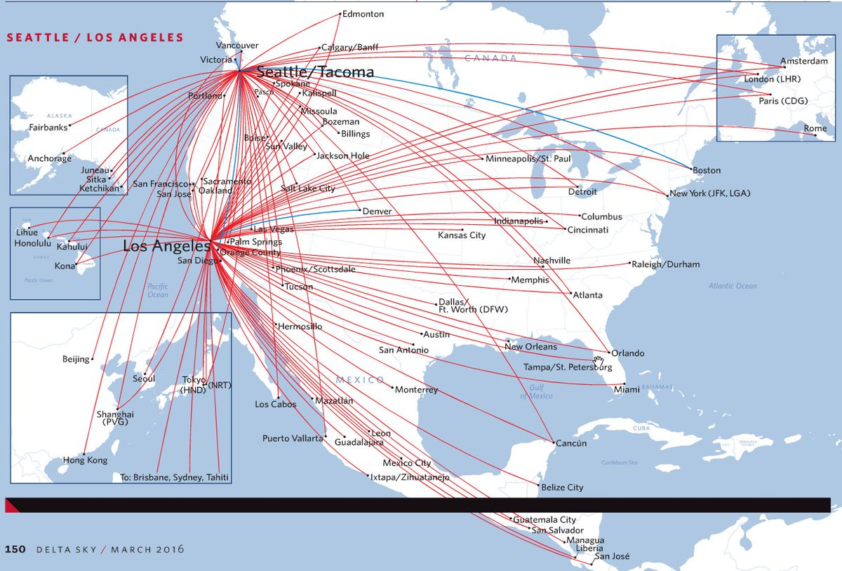 Airline Maps on Twitter: