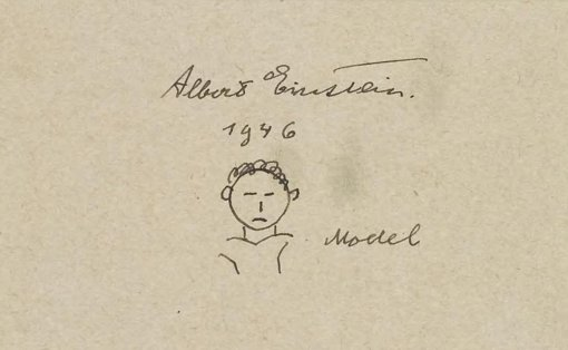 Albert Einstein was born on #PiDay 1879. Here's a doodle he drew, from our Dibner Library https://t.co/3VCvincztt https://t.co/GLQzbFXVEF