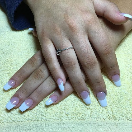 By @ivynails_spa: #acrylicnails #nofilter #longnails... http://ift.tt/1WkT6AZ #acrylicnails #nailartpic.twitter.com/ESPNkPkm3b