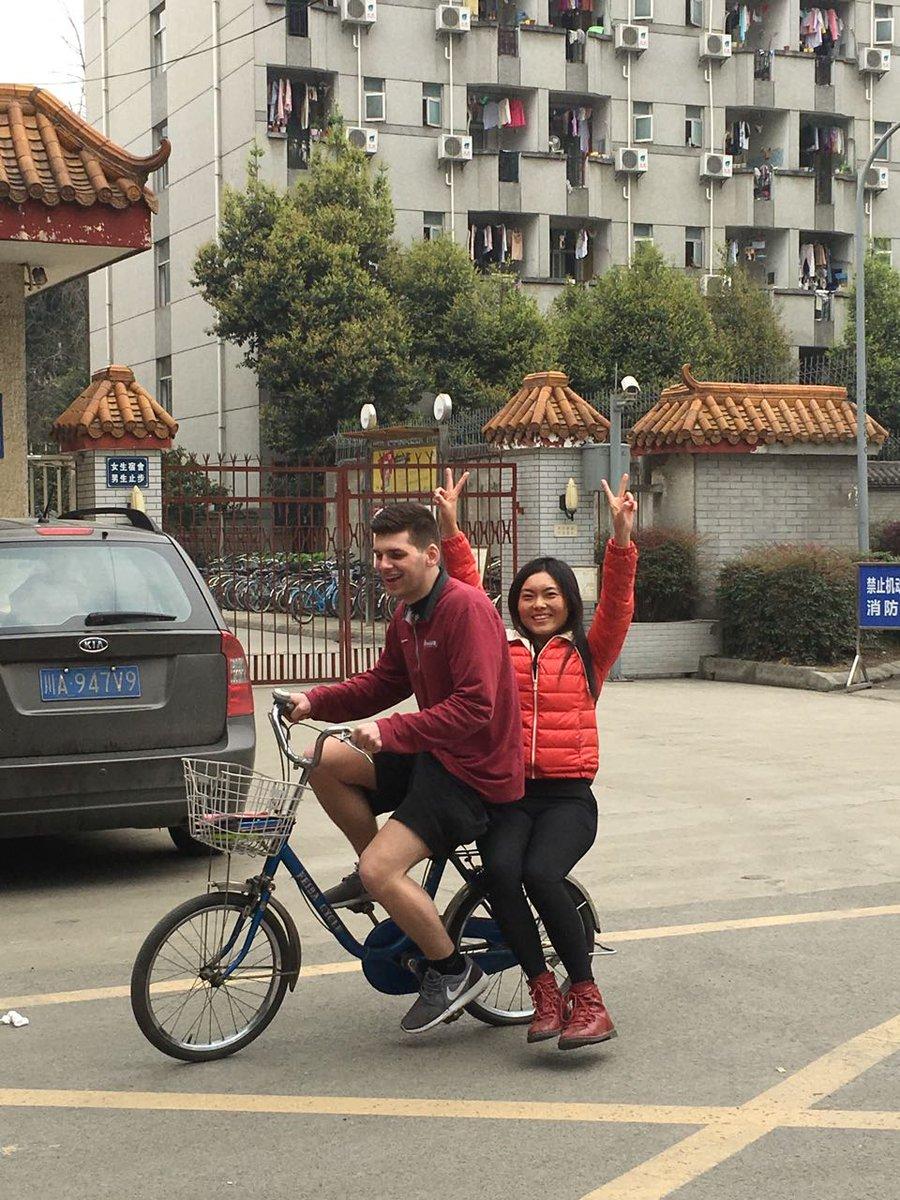 Picking up girls in china
