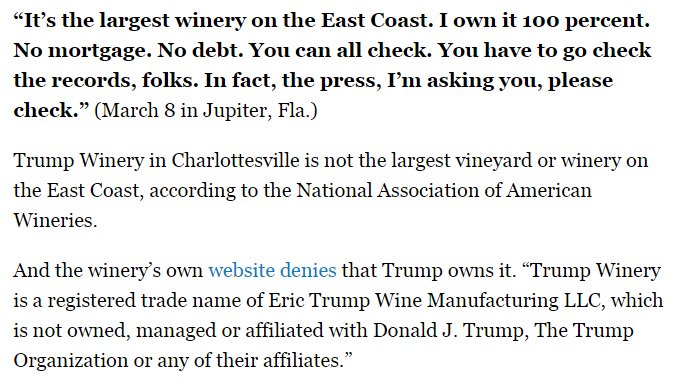 Sad: Trump begs media to fact check him, Politico accepts the challenge.  https://t.co/LluHmbP42A https://t.co/4qMuScsO3S