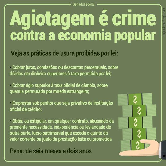 Resultado de imagem para agiotagem é crime