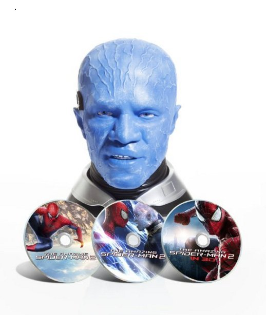I want to write a book about people who spent $150 for the AMAZING SPIDER-MAN 2 Blu-ray: Jamie Foxx's Head Edition. https://t.co/1WNedS8myB