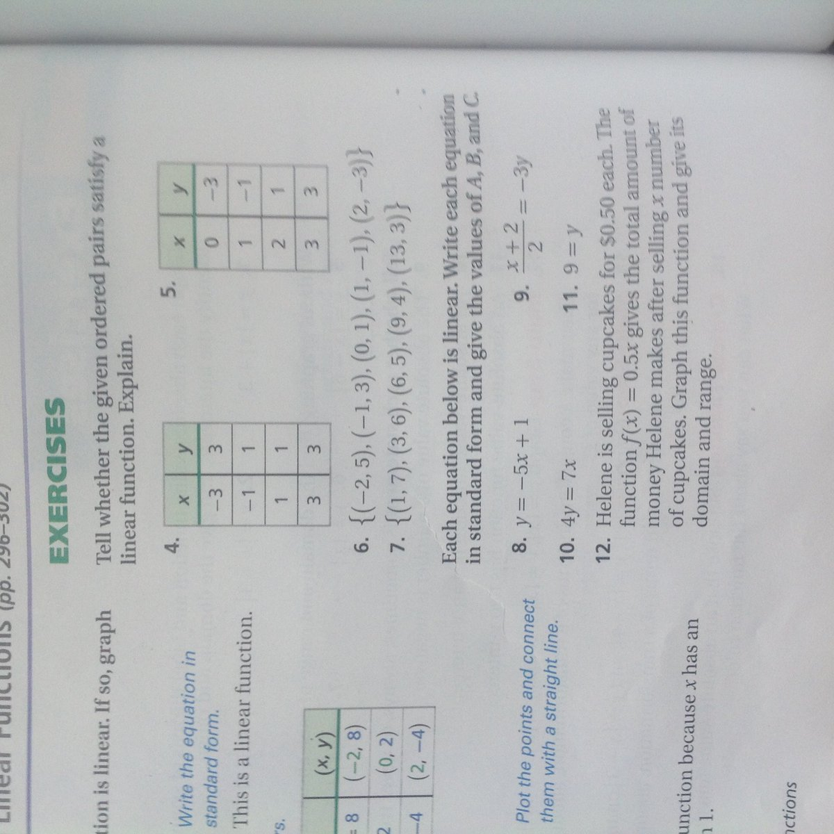 Mr decoteau on twitter b period algebra 1 page 365 examples 1 7 mr decoteau on twitter b period algebra 1 page 365 examples 1 7 and 14 19 pages 368 369 examples 2 32 evens skip 8 12 httpst4jeabpfz3m falaconquin