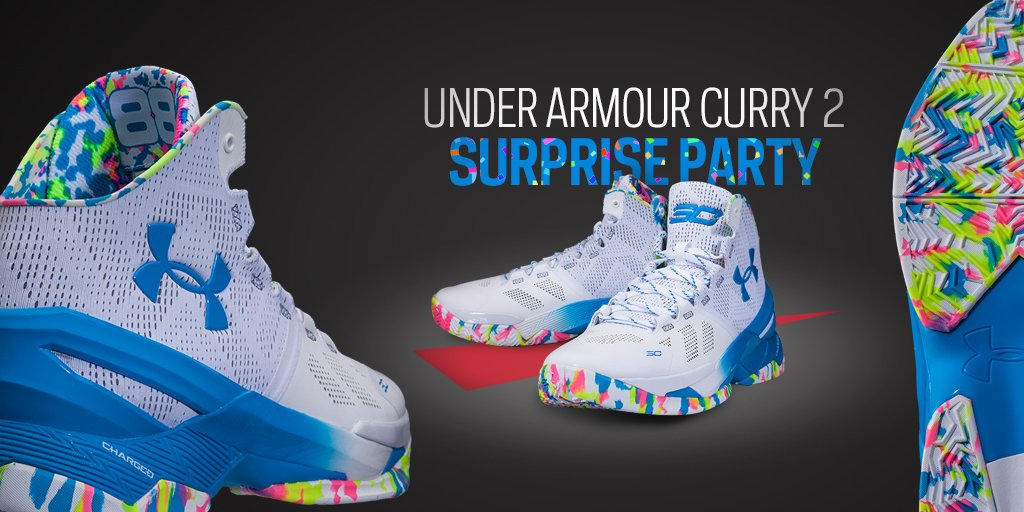 ab5319ce98d9 happy b day steph inspired by confetti cake the curry2 surprise party shoes  here mar 15