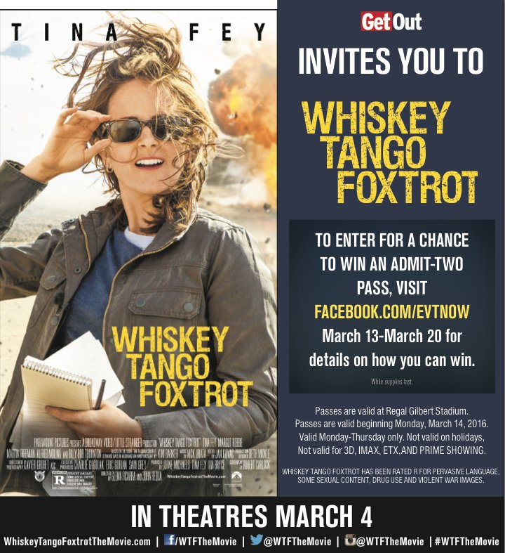 TICKET GIVEAWAY! We have tickets to the new @NotTinaFey movie, @WTFTheMovie. Retweet for your chance to win! https://t.co/mg6wjKxbNO