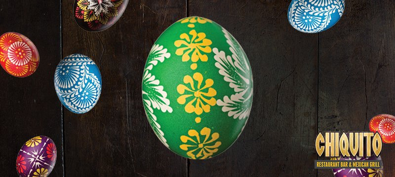 Hola amigos, there's lots of prizes hidden in our Chiquito Easter egg -Retweet to crack the egg, and you could WIN! https://t.co/oarDKRt24T