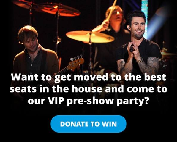 Enter to win #VIP tix + Pre-Show Party passes to a @Maroon5 show + help #FightKidsCancer! https://t.co/l291xWOrkI https://t.co/UkZFTW2gqz
