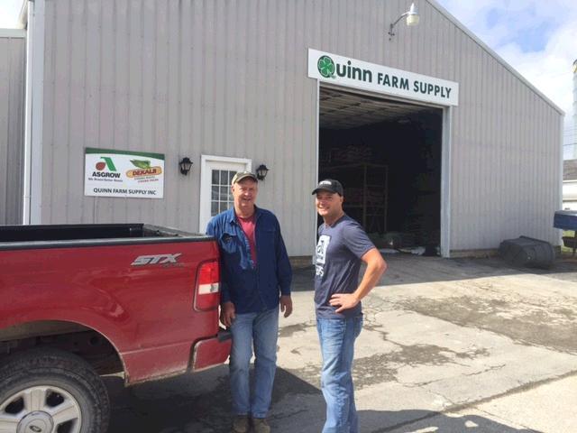 Dekalb Asgrow On Twitter Gerry Quinn Of Quinn Farm Supply Delivers New Asgrow Rr2x Soybeans To Monroe City Mo Farmer Cliff Seward Https T Co 3aya33yqh8