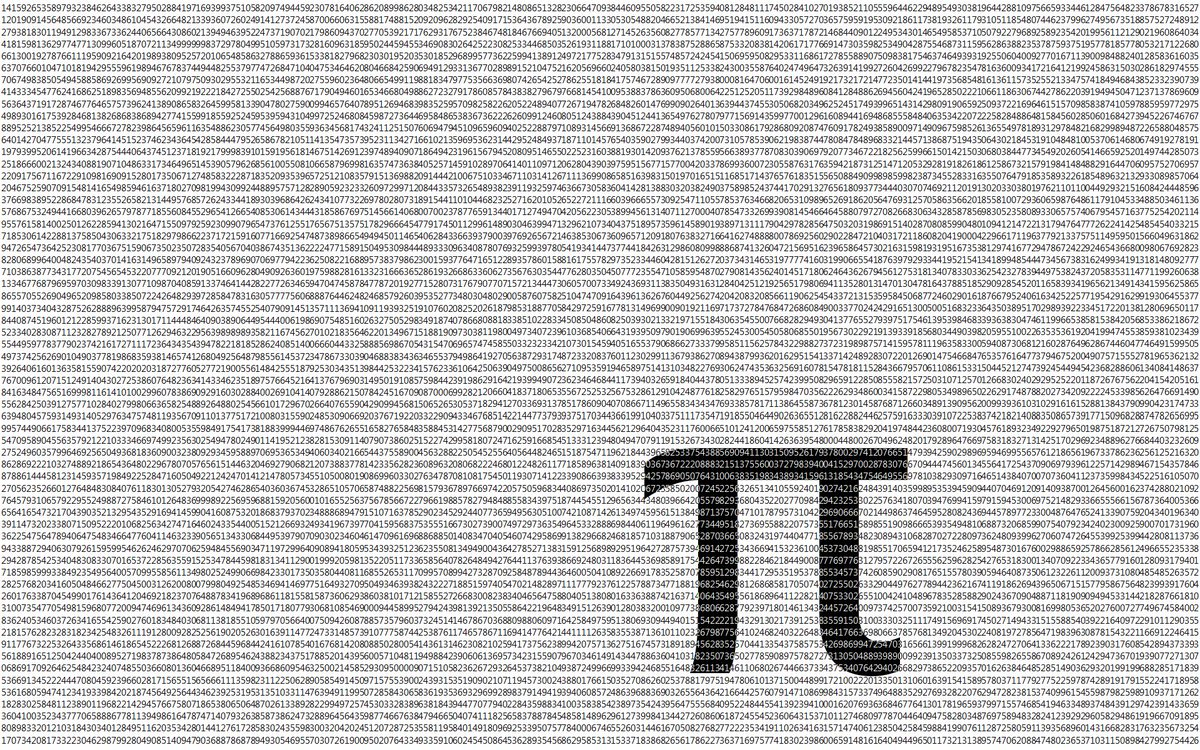 Happy Piday Here Are The First Billion Digits Of Pi Pic Twitter Com Iknlwhwwjj