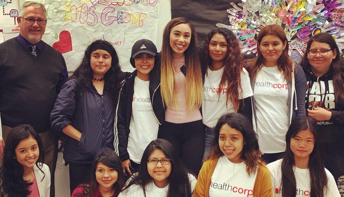 Happening NOW: Eva Gutowski visits Valley High School in Santa Ana, CA! @lifeaseva https://t.co/yjaGeqsxsG