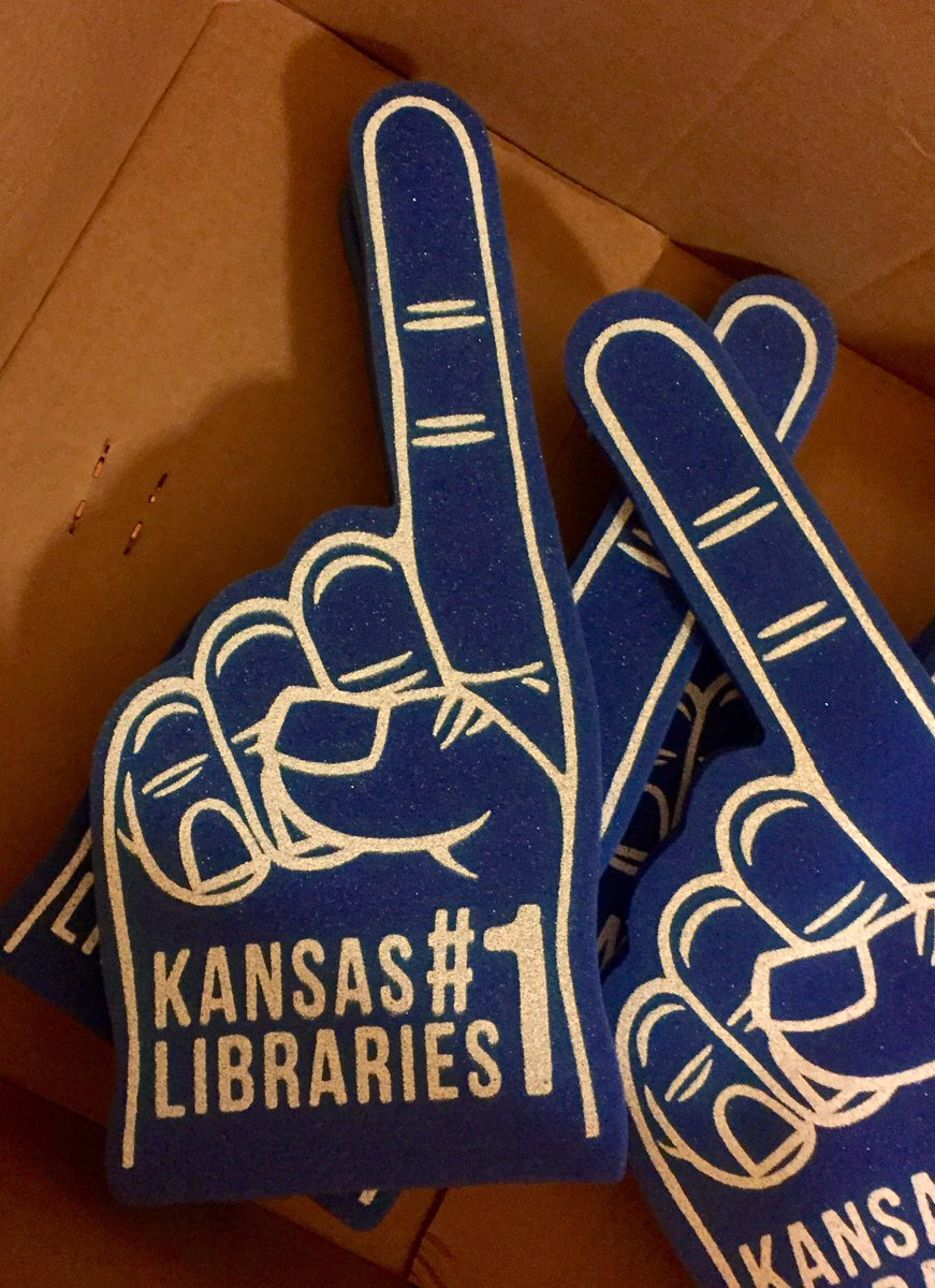 They have foam fingers in the hearing for HB 2719. It's getting serious. #ksleg https://t.co/tyui3iC0Sf