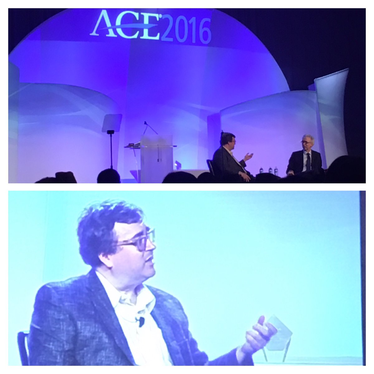 We should expect to see a revolution in education where people network to learn new skills. @reidhoffman #ACEMeetSF https://t.co/6t7JMIsCTW