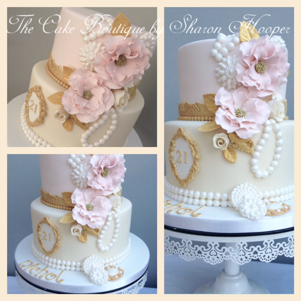 The Cake Boutique By Sharon Hooper On Twitter Two Tier 21st