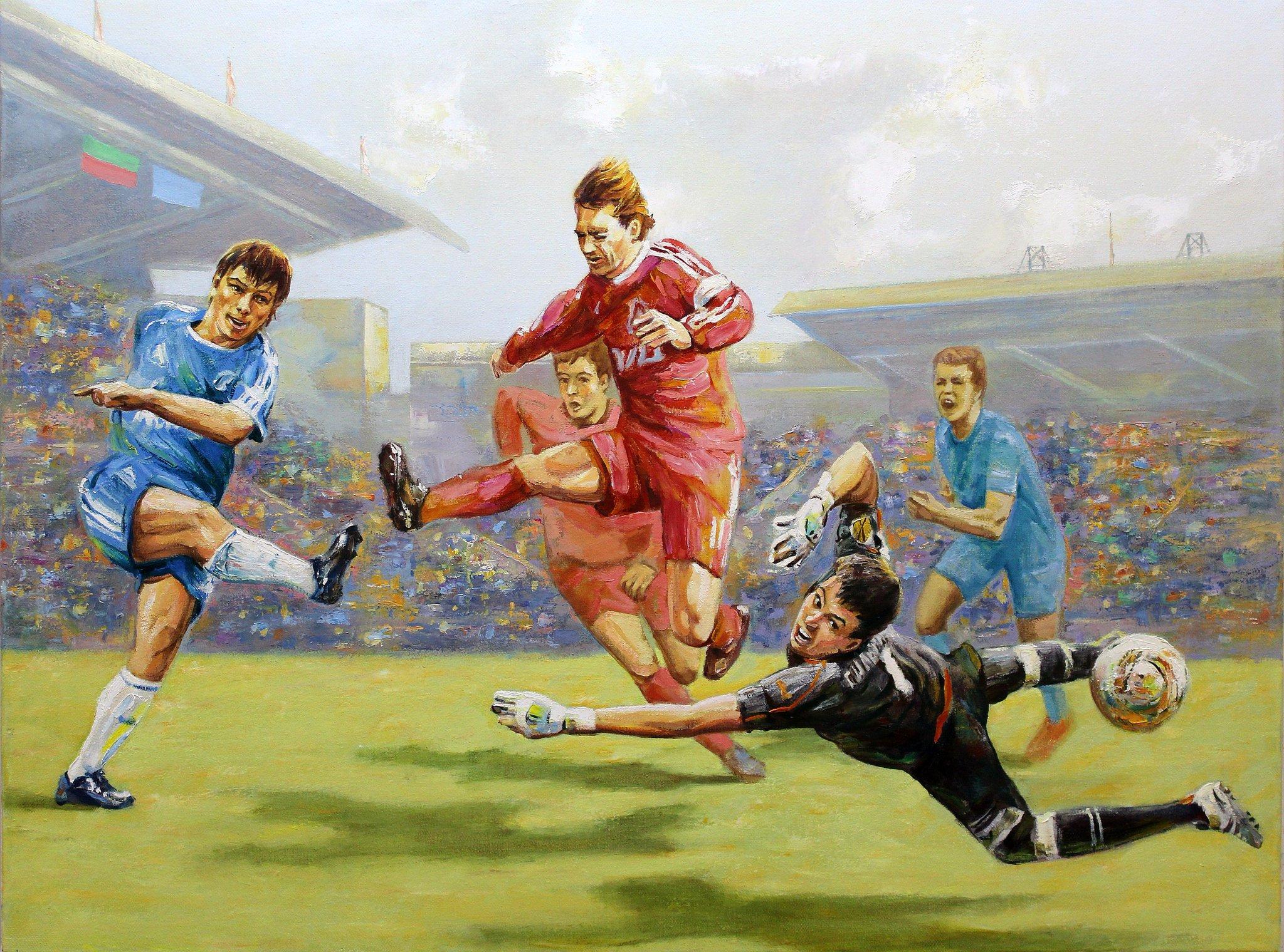 картинки о футболе композиционные была