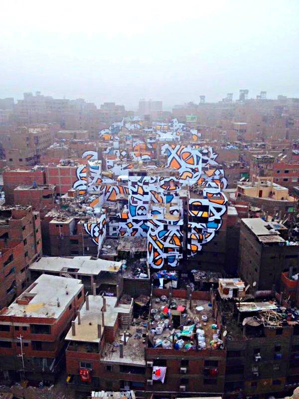 ABSOLUTE MUST SEE @ELSEEDart has surpassed himself w this stunning polyptych calligrafifti in Zaraeeb, Cairo | #نار https://t.co/teJYEwgDMj