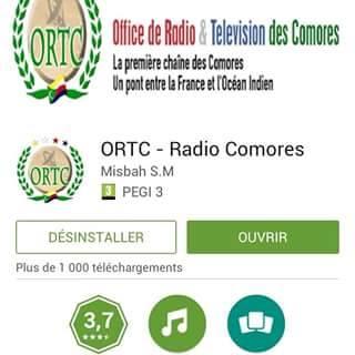ORTC GRATUITEMENT TÉLÉCHARGER COMORES