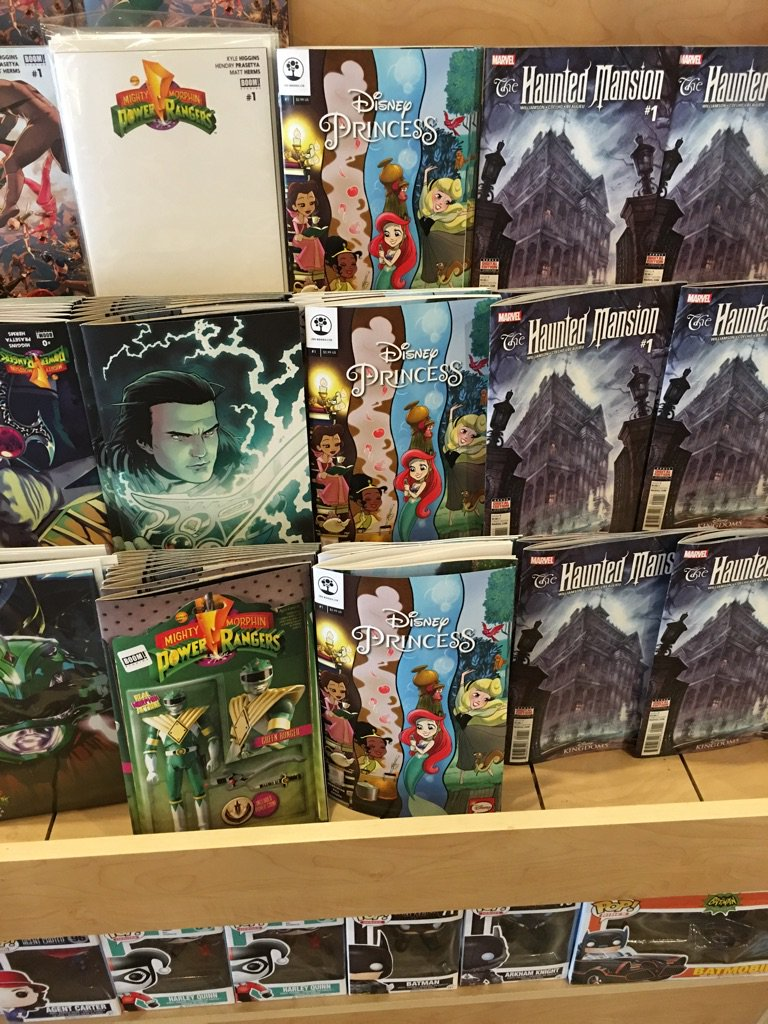 Anyone looking for @amymebberson's Disney Princess series, Pop Comics in Anaheim has plenty! https://t.co/deEs7oiLXC