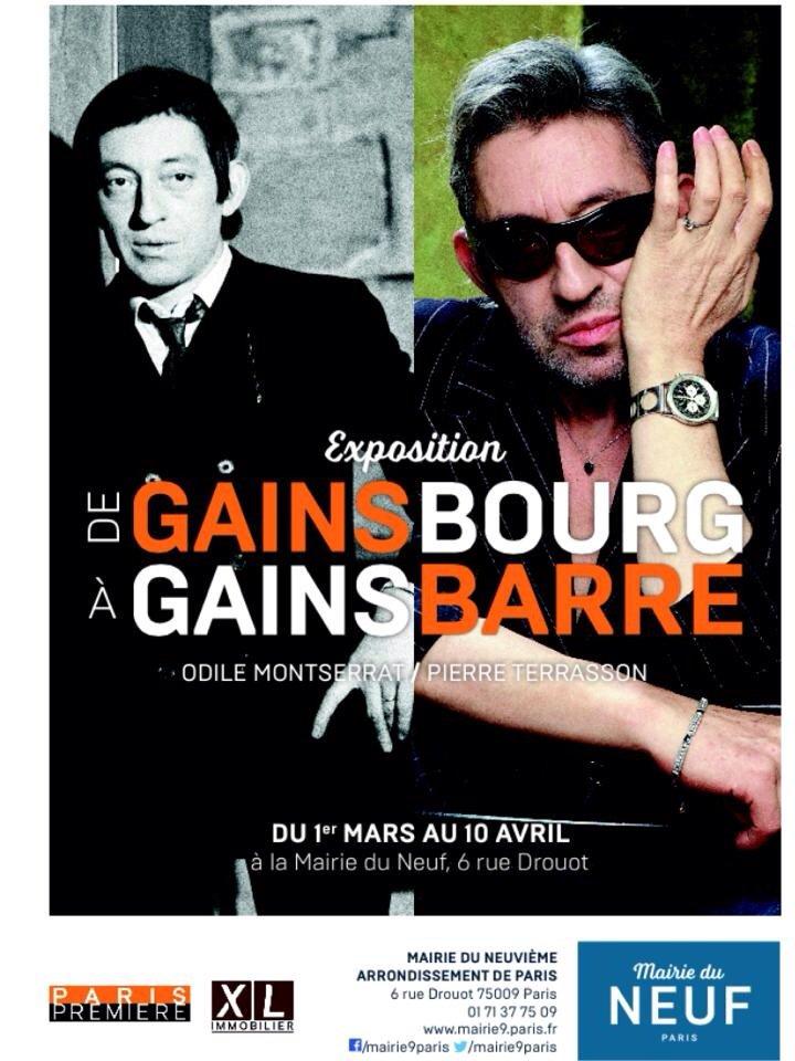 #Gainsbourg jusqu'au 10 avril #Mairie9Paris #VisiteFrance #Gratuit 80 #Photos #cultepic.twitter.com/CPCY61u0PO