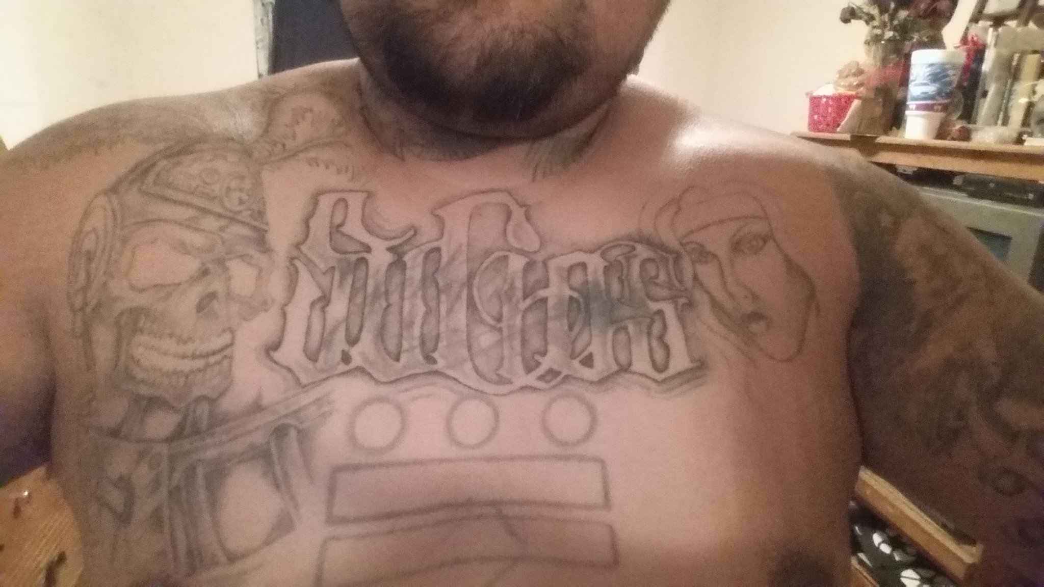3 dots 2 bars on twitter kinglilg ripping that sucios tattoo it s