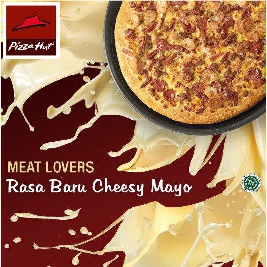 Meat Lovers Pizza hadir dgn rasa baru CheesyMayo. Coba rasakan Creamy Keju Gurih Meat Lovers https://t.co/olFDNaLqwX https://t.co/8lf4YEEQhy