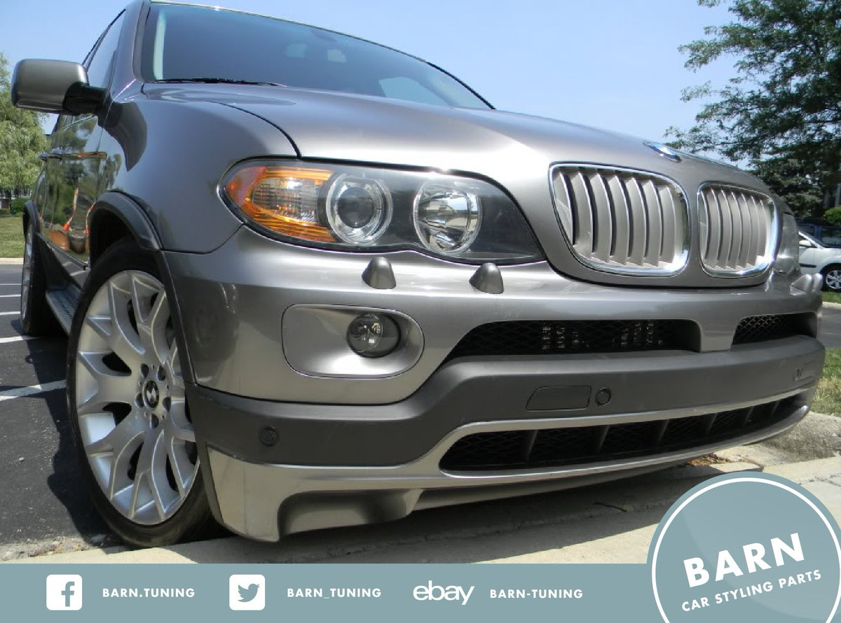 Barn Tuning On Twitter New Stuff Bmw X5 E53 4 6is 4 8is Front And Rear Bumper Spoiler 189 99 Free Shipping Https T Co Rie7zhlvdv Https T Co Cudlzfbaj8