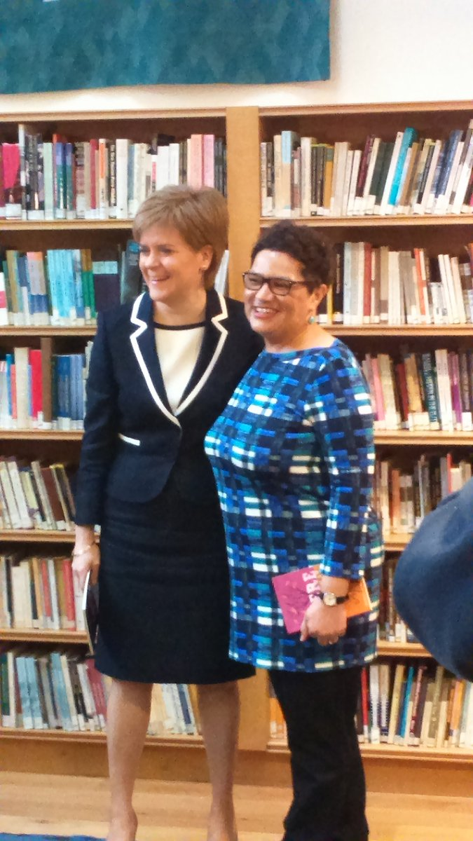 Jackie Kay is announced as the new National Poet for Scotland or #Makar. https://t.co/v9ZyjgHj2A