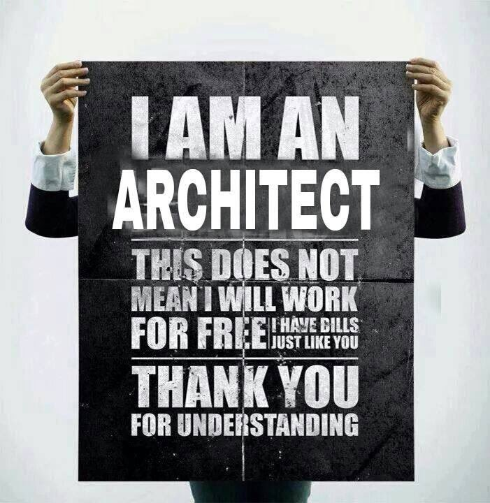 Sums it up nicely. #architects #donotworkforfree https://t.co/fG1RnuatXz