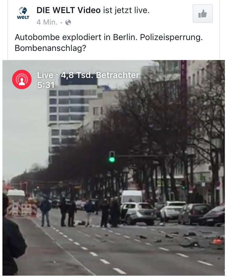Die @welt nutzt übrigens gerade @FacebookMention für die Live-Berichterstattung aus #Berlin. https://t.co/govMPWz1Jx