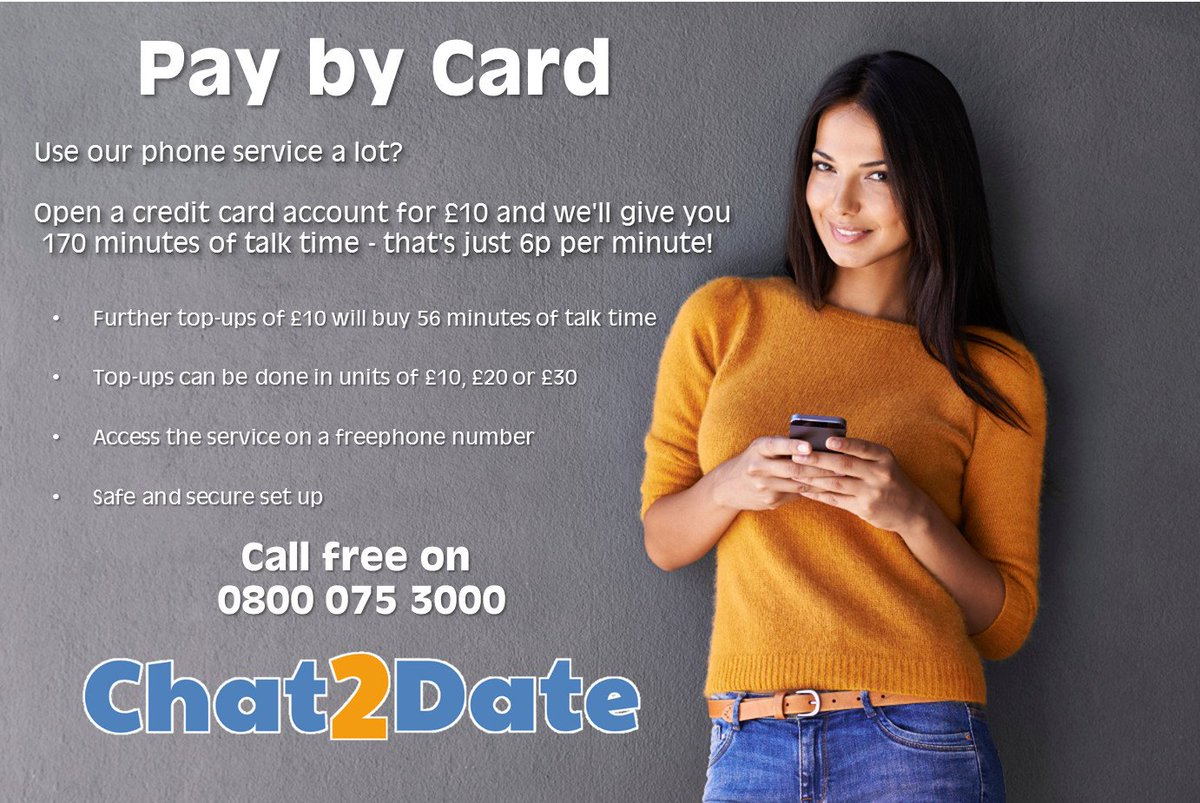 Phone dating service 34 99