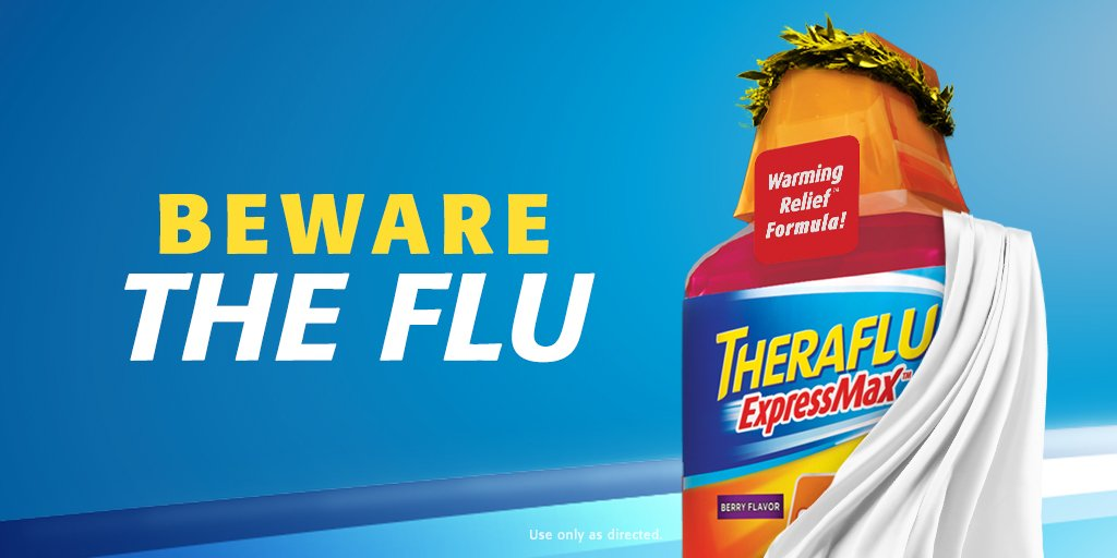 Theraflu On Twitter Watch Your Back The Flu Can Be Brutal