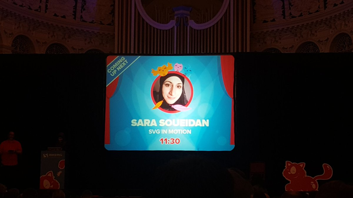 @SaraSoueidan's talk about SVG has opened so many doors to make our client's websites even better! #smashingconf https://t.co/mJ9Hyw4Ff3
