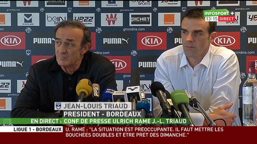 Les premiers mots de Ramé, nouvel entraîneur des Girondins