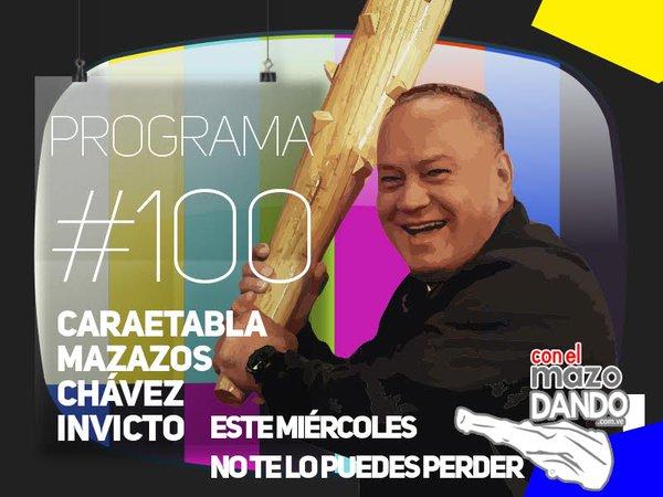 Thumbnail for Seguidores felicitan a Con el Mazo Dando por su programa número 100