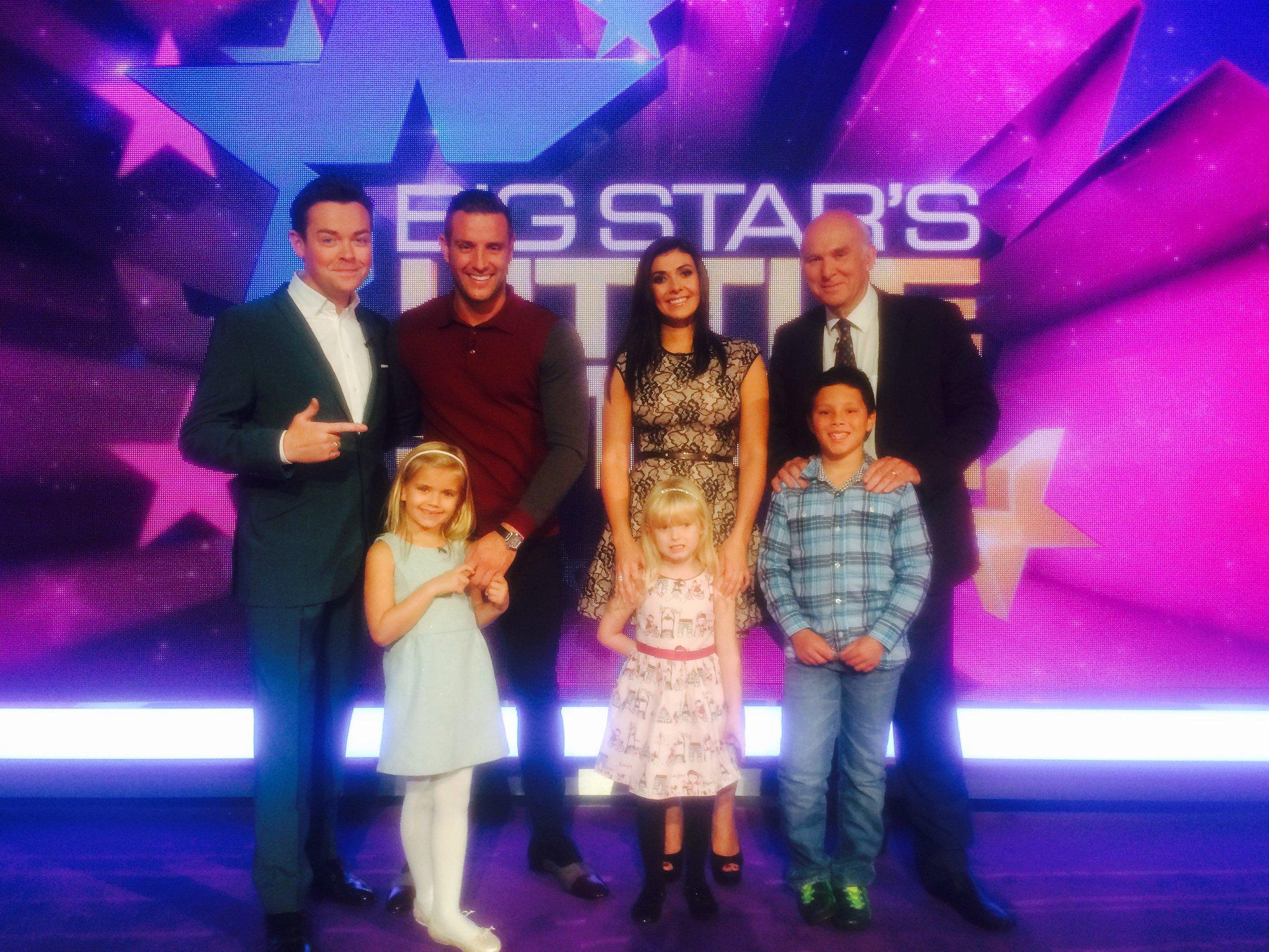 RT @ITVBigStars: Brand new #BigStarsLittleStar with @msm4rsh, @elliottwright_ & @vincecable joining @StephenMulhern 8pm Wed @ITV! https://t…