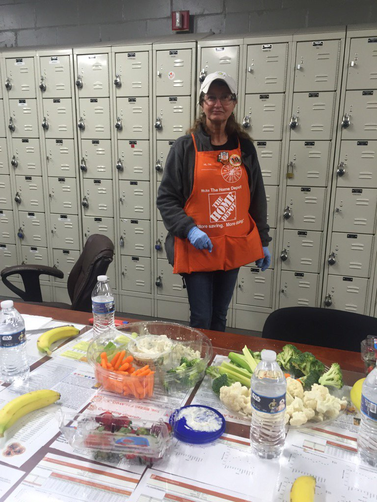 "Home Depot #0928 on Twitter: ""Building Better Health Captain ..."