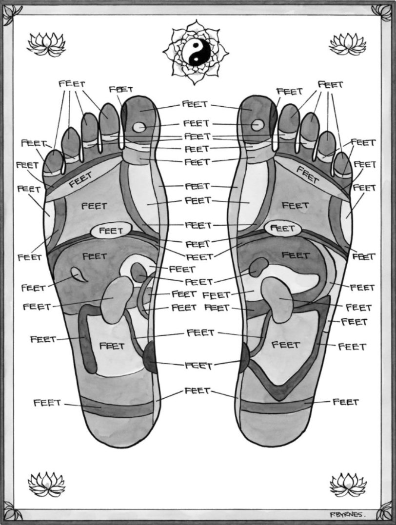 New, scientifically accurate and evidence-based #refloxology foot map released: h/t @MichaelBaum11 https://t.co/xc0OCEzF3h