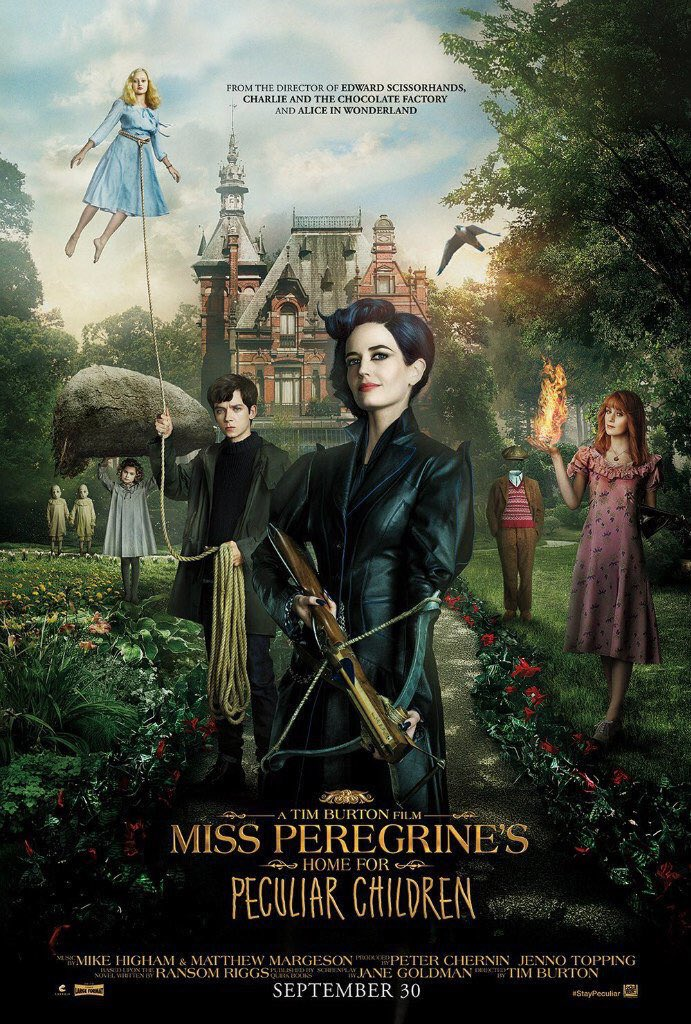 Also: official Miss Peregrine movie poster! https://t.co/HeXfXYvow0